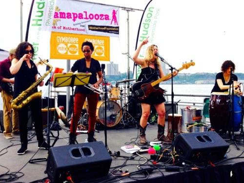 Dawn Drake and Zapote appearing at Mamapalooza 2015!